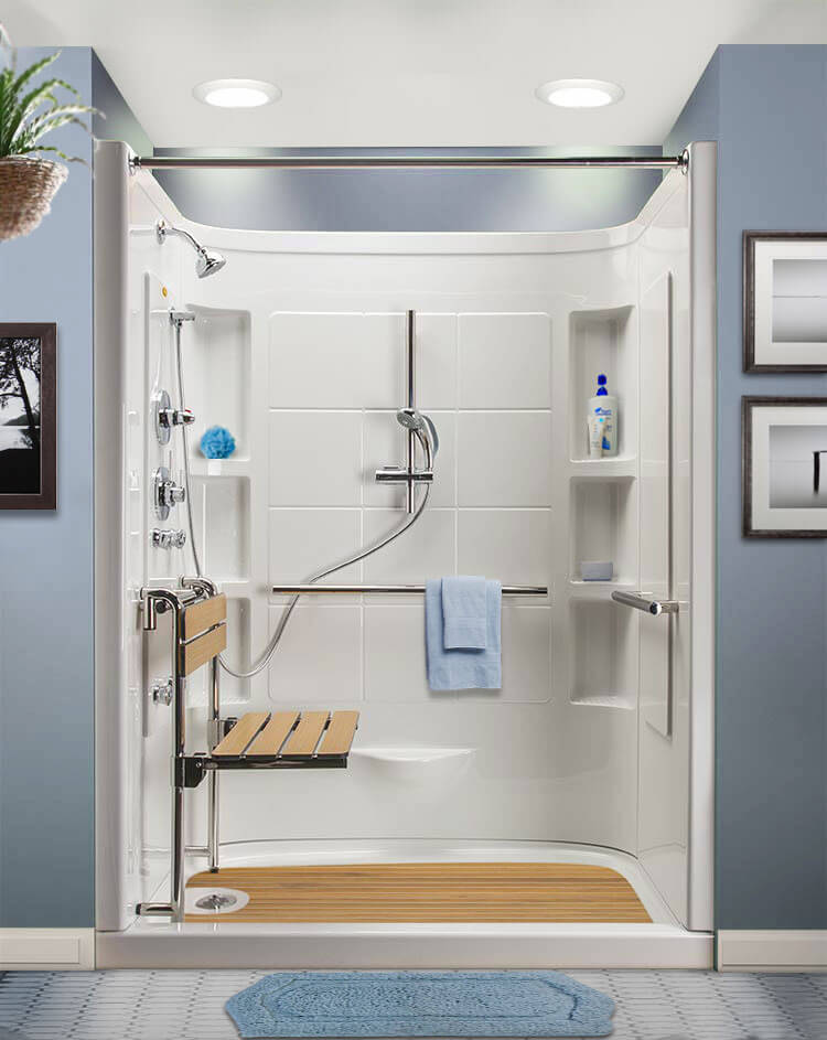 Aging in the Home Remodelers - AIHR - Designed for Seniors® Hydrotherapy Showers